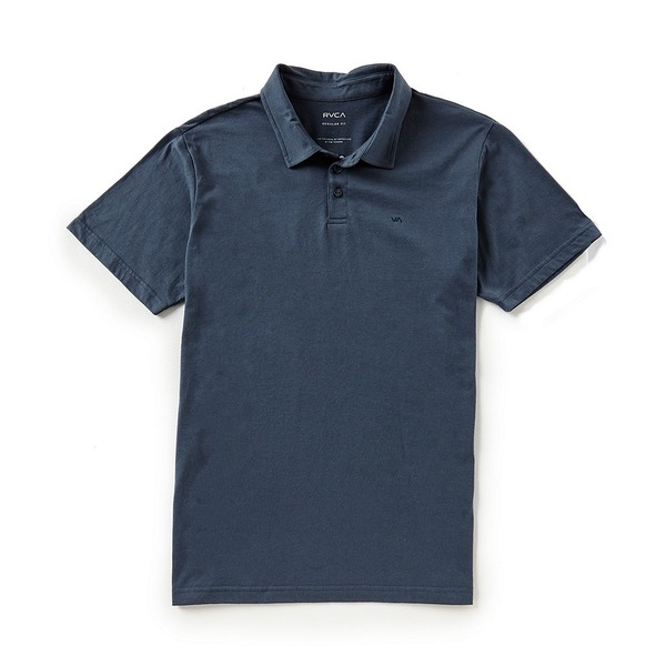 ルーカ メンズ ポロシャツ トップス Sure Thing II Short-Sleeve Regular Fit Polo Shirt Midnight