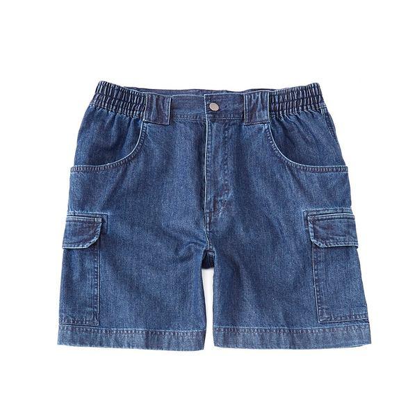 ランドツリーアンドヨーク メンズ ハーフ&ショーツ ボトムス 7#double; Hiker Denim Cargo Shorts Denim