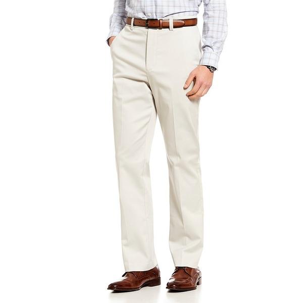 ランドツリーアンドヨーク メンズ カジュアルパンツ ボトムス Big & Tall TotalFLEX Classic Fit Flat Front CoreComfort Waistband Easy Care Pants Stone