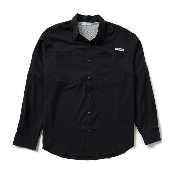 コロンビア メンズ シャツ トップス PFG Tamiami II Shirt Black