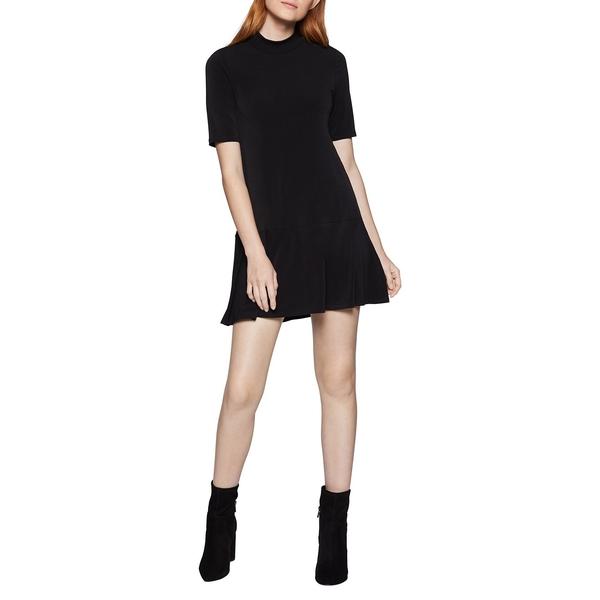 BCBジェネレーション レディース ワンピース トップス Mockneck Knit Swing Dress Black