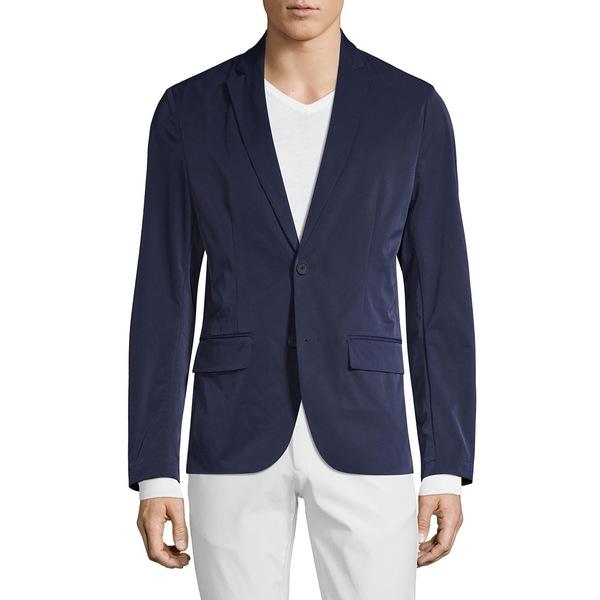 ブラック・ブラウン1826 メンズ ジャケット&ブルゾン アウター Packable Button Sportcoat Navy