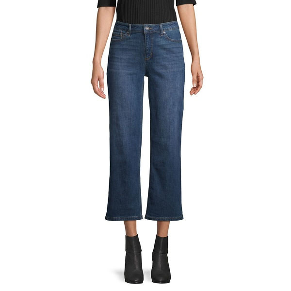 ジョーンズニューヨーク レディース デニムパンツ ボトムス Montauk Wide-Leg Jeans Montauk Wash