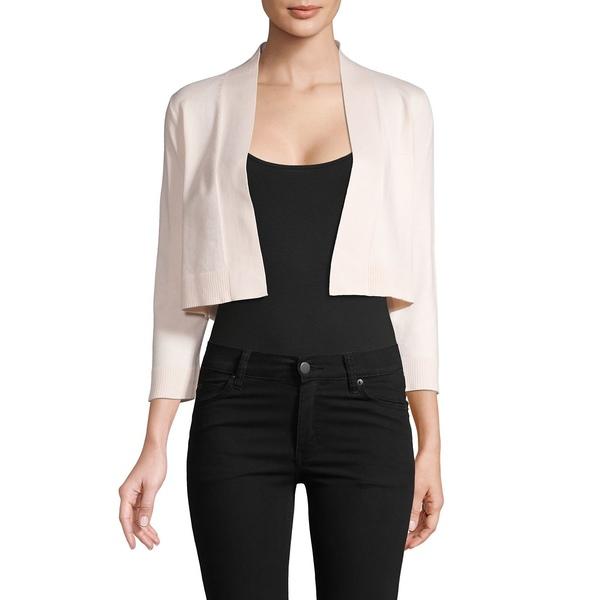 カルバンクライン レディース ニット&セーター アウター Long-Sleeve Cropped Cardigan Blossom
