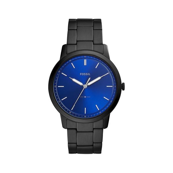 フォッシル メンズ 腕時計 アクセサリー The Minimalist Stainless Steel Bracelet Watch Black