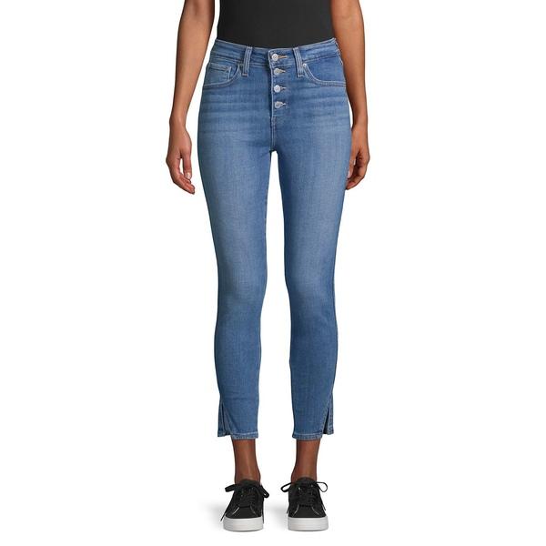 リーバイス レディース デニムパンツ ボトムス High-Rise Skinny Cropped Jeans Back To Back