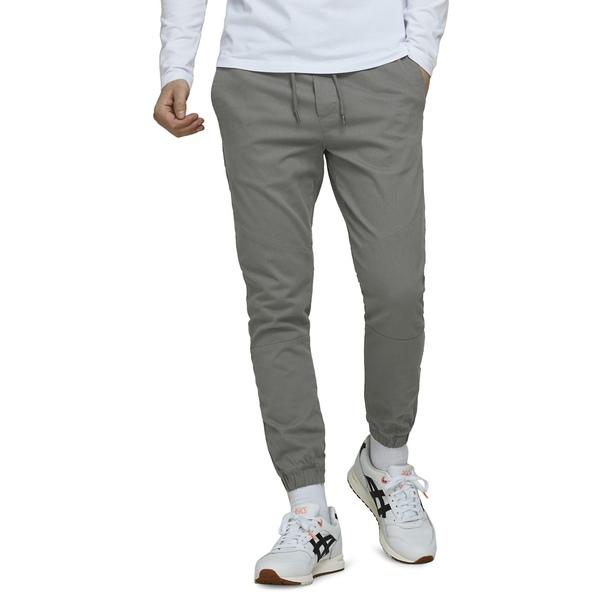ジャック アンド ジョーンズ メンズ カジュアルパンツ ボトムス Stretch-Cotton Jogger Pants Charcoal