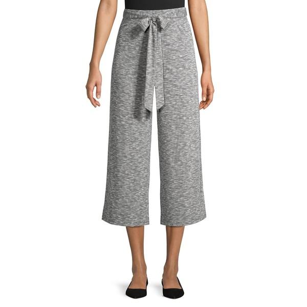 ビーコレクションバイボビュー レディース カジュアルパンツ ボトムス Doris Cropped Wide-Leg Pants Graphite