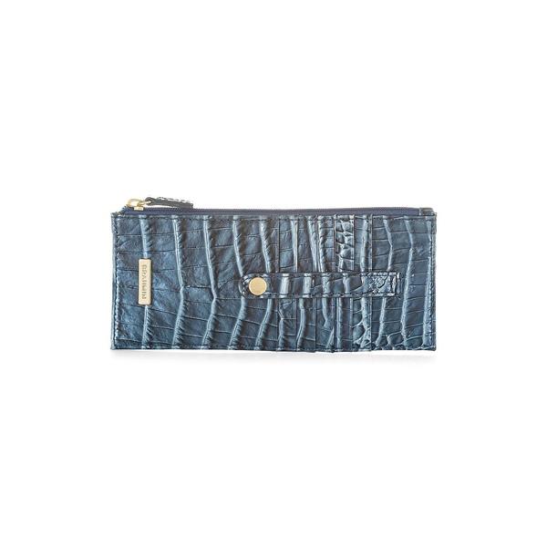 ブランミン レディース ハンドバッグ バッグ Melbourne Leather Credit Card Wallet Aquarius