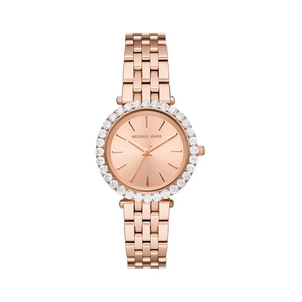 マイケルコース レディース 腕時計 アクセサリー Darci Three-Hand Rose Goldtone Stainless Steel Watch Rose Gold