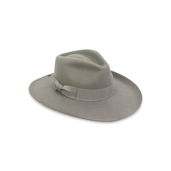 ピーターグリム レディース 帽子 アクセサリー Milan II Wool Fedora Hat Grey