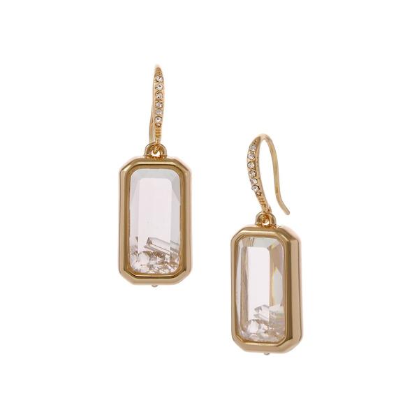 ランドリーバイシェリーシーガル レディース ピアス&イヤリング アクセサリー Basics Goldtone & Crystal Square Shaker Drop Earrings Gold