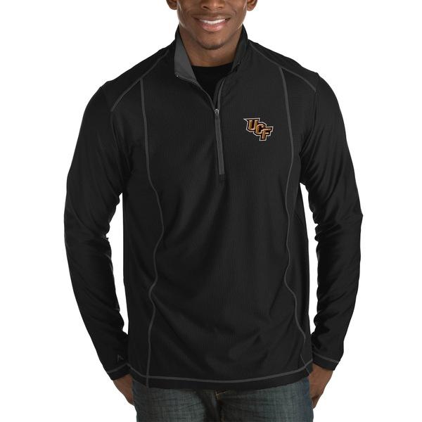 アンティグア メンズ ジャケット&ブルゾン アウター UCF Knights Antigua Tempo HalfZip Pullover Big & Tall Jacket Charcoal