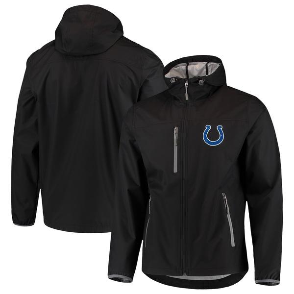 カールバンクス メンズ ジャケット&ブルゾン アウター Indianapolis Colts GIII Sports by Carl Banks Trick Play FullZip Hooded Jacket Black