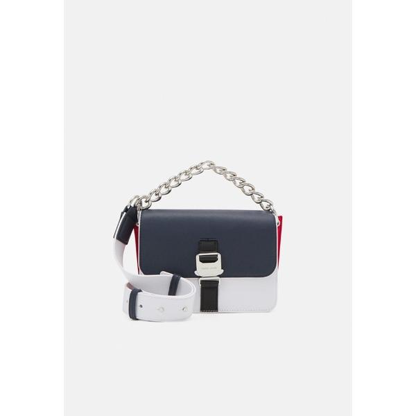 トミーヒルフィガー レディース バッグ ハンドバッグ blue 70%OFFアウトレット 全商品無料サイズ交換 FLAP Handbag ITEM vuxb015a 推奨 CROSSOVER -