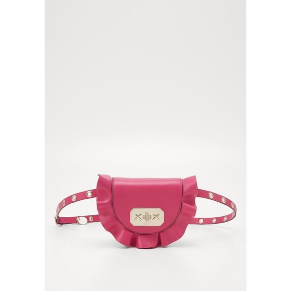レッド ヴァレンチノ レディース バッグ ボディバッグ 今季も再入荷 ウエストポーチ glossy pink - 全商品無料サイズ交換 安心と信頼 bag ROCK Bum vuxb015a RUFFLES WAISTBAG
