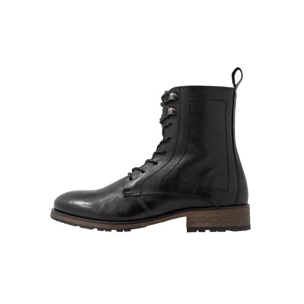 ティガ メンズ <セール&特集> シューズ ブーツ レインブーツ black 全商品無料サイズ交換 boots - ankle vuxb015c 今だけ限定15%OFFクーポン発行中 Lace-up MATTHEW