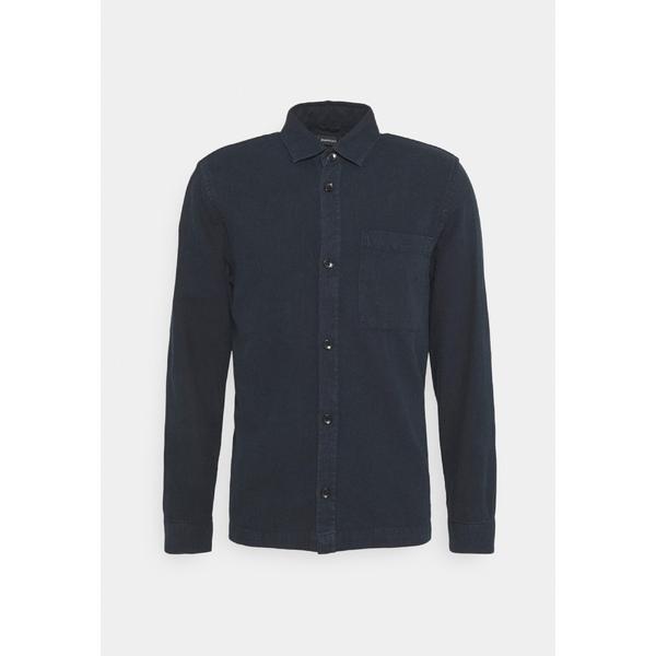 マルティニーク メンズ トップス シャツ dark 5%OFF navy Shirt MATRITE vuxb015e 全商品無料サイズ交換 ランキング総合1位 -
