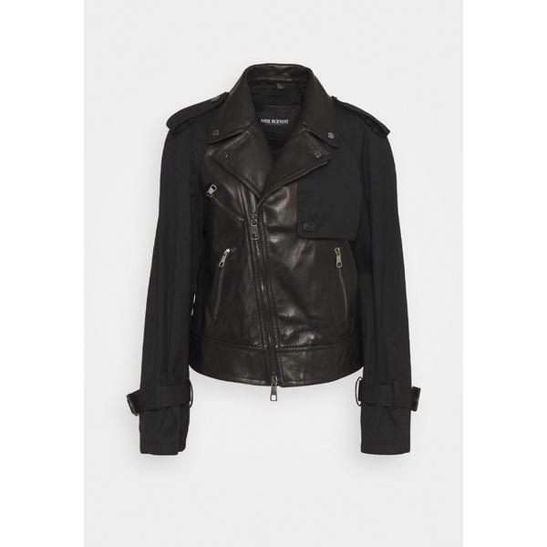 <title>ニールバレット レディース アウター ジャケット ブルゾン black 信頼 全商品無料サイズ交換 HYBRID BIKER - Leather jacket vuxb0165</title>