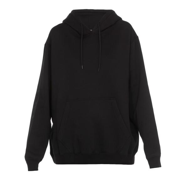 エムエスジイエム レディース パーカー・スウェットシャツ アウター MSGM Logo Sweatshirt BLACK