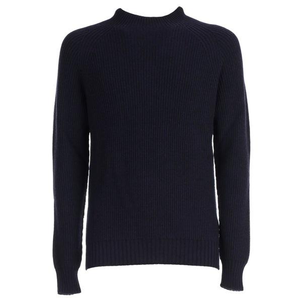 アスペジ メンズ ニット&セーター アウター Aspesi Sweater BluNavy