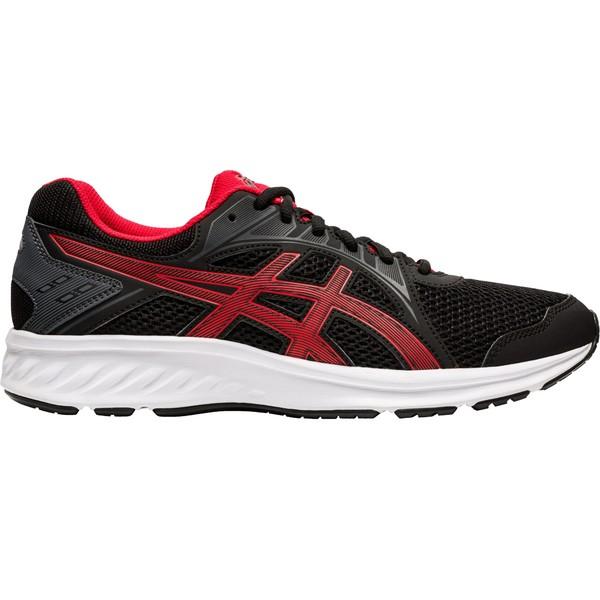 ASICS メンズ スポーツ 安心の定価販売 ランニング Black Red 全商品無料サイズ交換 アシックス Men's Jolt Running Shoes 2 ☆送料無料☆ 当日発送可能