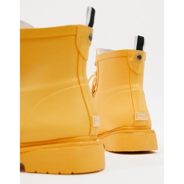 ヴェロモーダ レディース ブーツ&レインブーツ シューズ Vero Moda lace up hiking boots Fall blaze
