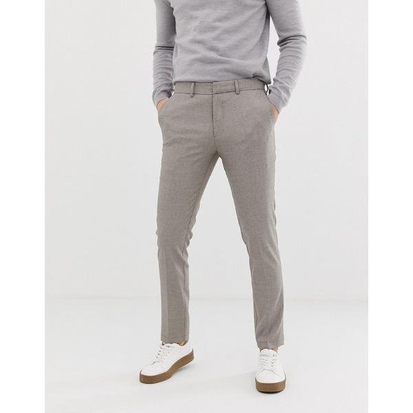 セレクテッドオム メンズ カジュアルパンツ ボトムス Selected Homme smart slim fit pants Sand