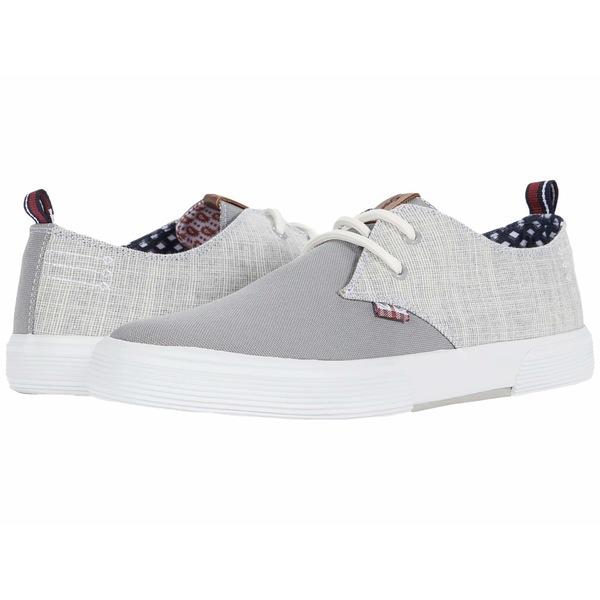 ベンシャーマン メンズ スニーカー シューズ Bradford Oxford Light Grey Textile