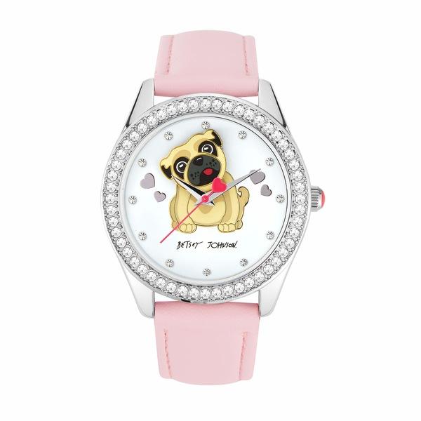 ベッツィジョンソン レディース 腕時計 アクセサリー Bauble Pug Watch Silver