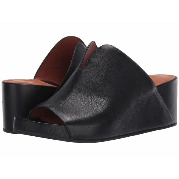 ケネスコール レディース ヒール シューズ Gisele 65 Mule Black Leather