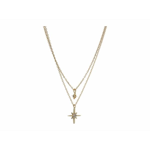 シャシ レディース ネックレス・チョーカー・ペンダントトップ アクセサリー Lacey Layered Necklace Gold
