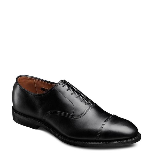 アレンエドモンズ メンズ シューズ ドレスシューズ Black 全商品無料サイズ交換 Oxfords Dress Cap-Toe Leather 2020秋冬新作 オンラインショッピング Park Avenue