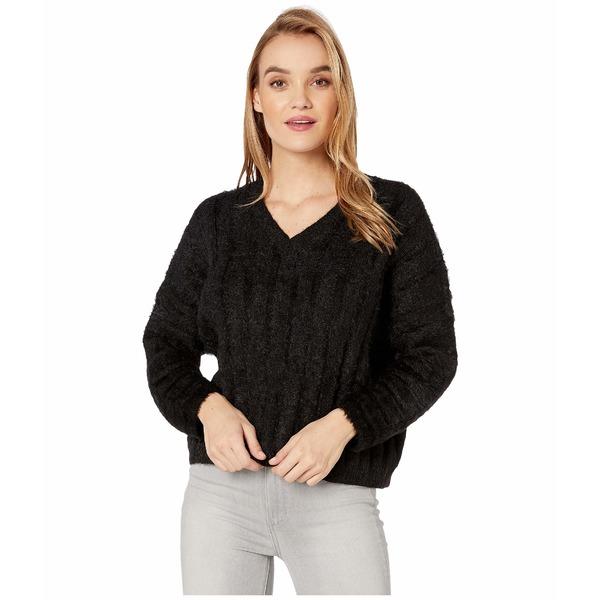 ビジョッププラスヤング レディース ニット&セーター アウター Stella Ribbed Sweater Black