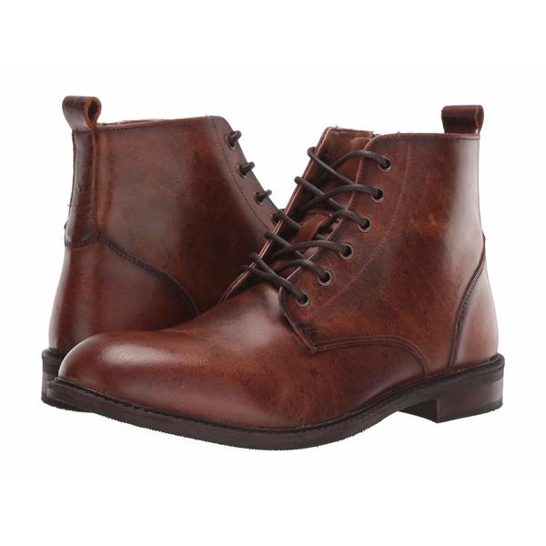 スティーブ マデン メンズ ブーツ&レインブーツ シューズ Krank Boot Cognac Leather