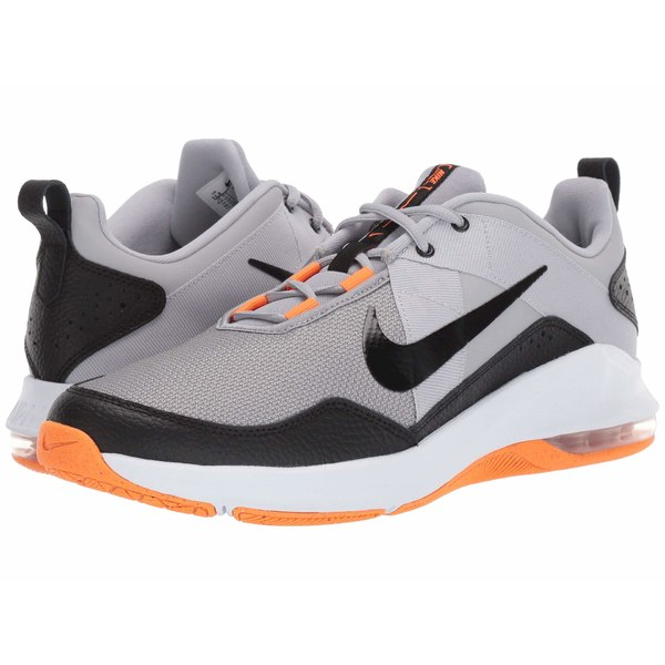ナイキ メンズ スニーカー シューズ Air Max Alpha Trainer 2 Wolf Grey/Black/Total Orange/Cool Grey