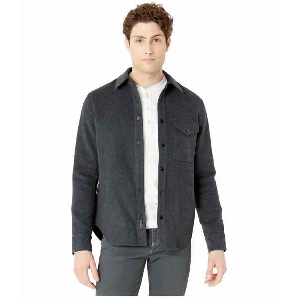 ラグアンドボーン メンズ コート アウター Principle Shirt Jacket Heather Grey