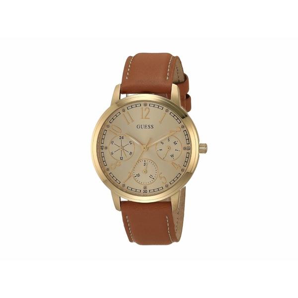 ゲス レディース 腕時計 アクセサリー U1089L1 Gold/Brown