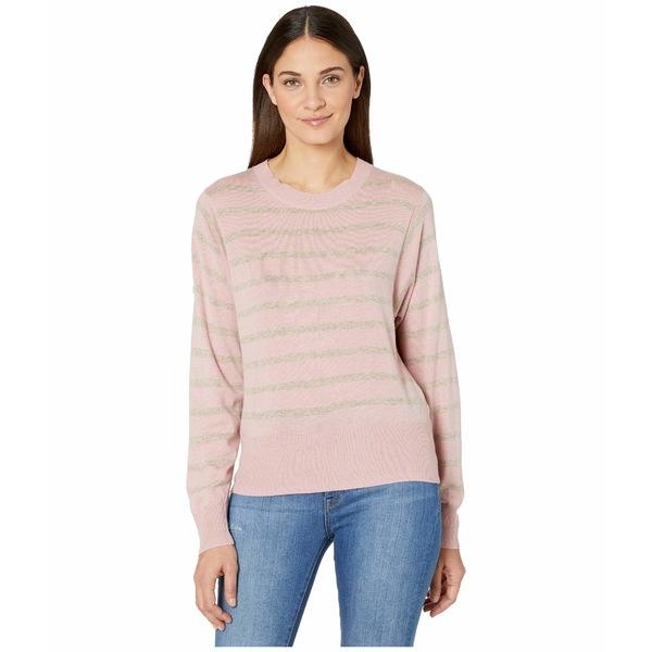 スプレンディット レディース ニット&セーター アウター Tradewinds Striped Pullover Pink/Heather Toast