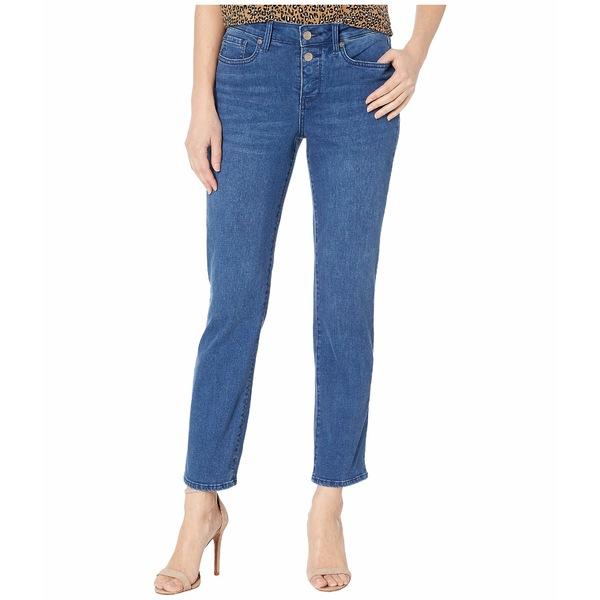 エヌワイディージェイ レディース デニムパンツ ボトムス Sheri Ankle Jeans with Mock Fly in Nevin Nevin