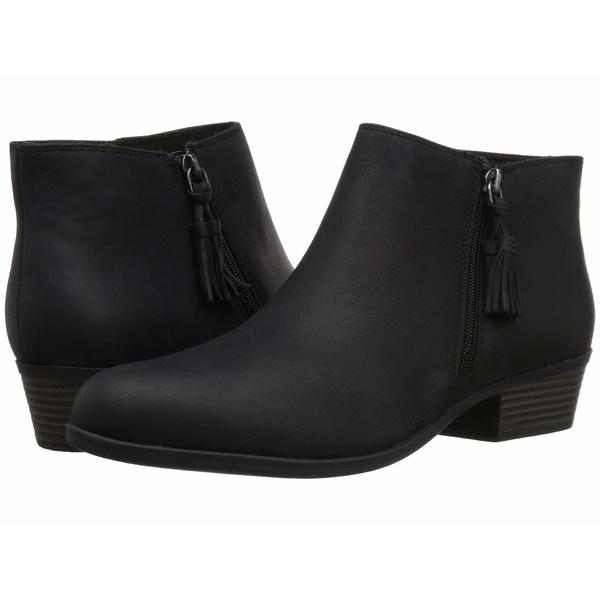 クラークス レディース ブーツ&レインブーツ シューズ Addiy Terri Black Leather