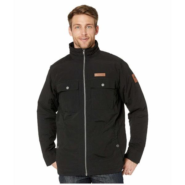 コロンビア メンズ コート アウター Wheeler Lodge Casual Jacket Black