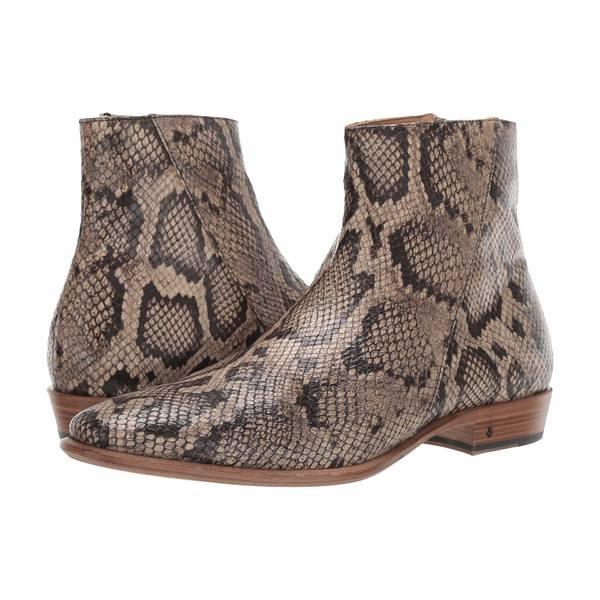 ジョンバルベイトス メンズ ブーツ&レインブーツ シューズ Lewis Slant Zip Boot Desert