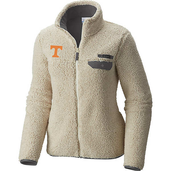 コロンビア レディース ジャケット&ブルゾン アウター Columbia Women's Collegiate Mountain Side Heavyweight Fleece Jacket Ut - Chalk / Charcoal