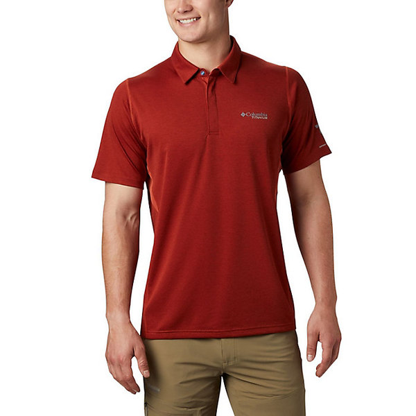 コロンビア メンズ シャツ トップス Columbia Men's Irico Knit Polo Carnelian Red