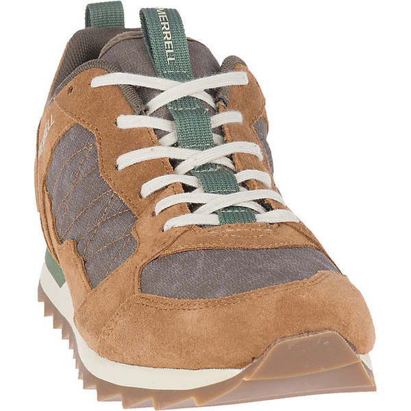 メレル メンズ スニーカー シューズ Merrell Men's Alpine Sneaker Shoe Tobacco