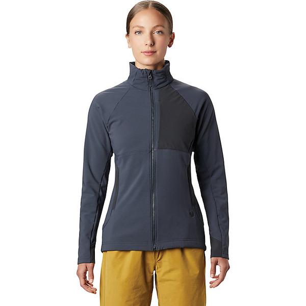 マウンテンハードウェア レディース ジャケット&ブルゾン アウター Mountain Hardwear Women's Keele Full Zip Jacket Dark Storm
