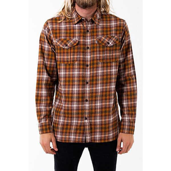 ケイティン メンズ シャツ トップス Katin Men's Nelson Shirt Cognac
