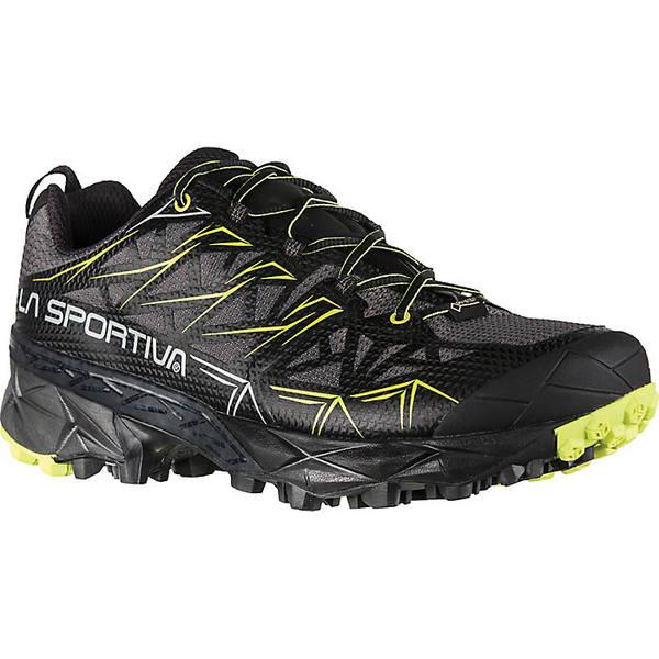 ラスポルティバ メンズ ランニング スポーツ La Sportiva Men's Akyra GTX Shoe Carbon / Apple Green