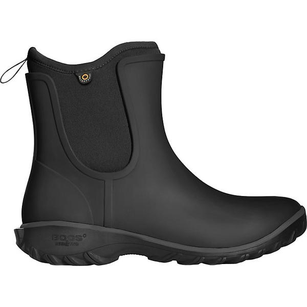 ボグス レディース ブーツ&レインブーツ シューズ Bogs Women's Sauvie Slip Boot Black